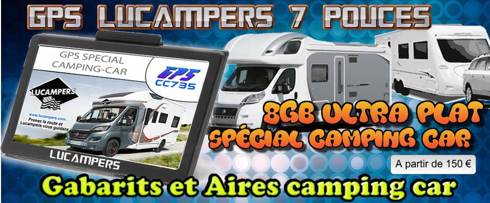 lucampers specialiste gps special camping car lucampers gps special camping car. Black Bedroom Furniture Sets. Home Design Ideas
