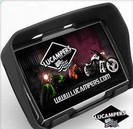 gps moto lucampers lucampers gps special camping car camera de recul autoradio gps camping. Black Bedroom Furniture Sets. Home Design Ideas
