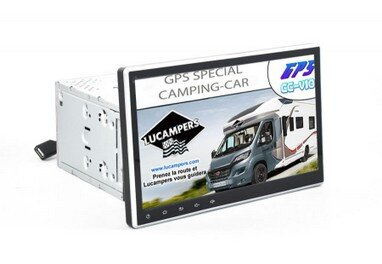 autoradio gps 10 pouce fiat ducato lucampers gps special camping car. Black Bedroom Furniture Sets. Home Design Ideas